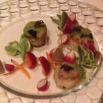 Day boat scallops, two ways