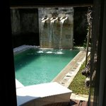 The pool single room villa
