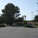 San Simeon Pines parking lot