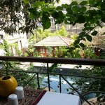 View from balcony during breakfast
