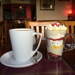 Coffee & Eaton Mess for dessert after an excellent lunch. 2nd visit in a fortnight and not disap
