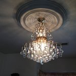 New living room chandelier