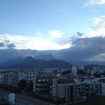 View of the mountain range from my balcony