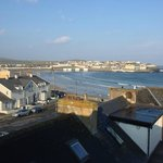 View from our room at Stella Maris, Kilkee
