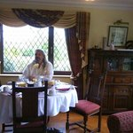 The breakfast room at Abbey Court in Kenmare Ireland