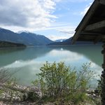 View from the property over Lillooet Lake