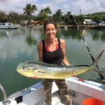 If you're interested in fishing while in Kauai... this is a must!
