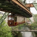 Historic unit on the Schwebebahn