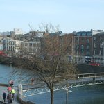 King Corner Suite - View of Liffey River