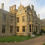 Outside view of Rushton Hall