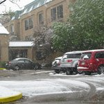 Late Snow in Fort Collin's Hampton Inn