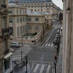 View from my room that shows the Museum d'Orsay