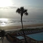early morning view from room ormond beach