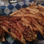 Cajun Chicken and Fries