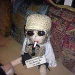 "This is the ""welcome"" doll at reception.   She was my favorite"