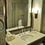 Bath, King Room, 33rd Floor, JW Marriott, Indianapolis, IN