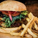 The Woodfire Burger
