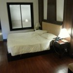 This is the room I stay . Had a great stay here . Very spacious . Peaceful when I wake up in the