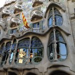 close to Gaudi buildings