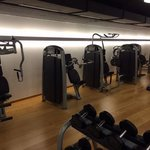 Probably best hotel gym in Basel