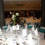 Function Room Wedding Set Up