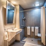 King Handicap Accessible Bathroom