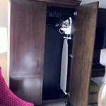 Enhanced Accessibility Room: armoire