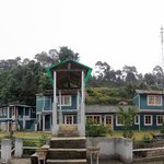 View of the Binsar Eco Camp