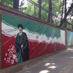 Murals at the 'Den of Espionage'