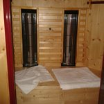 double sauna booth
