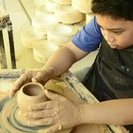 Ace at Khemer Ceramics Centre