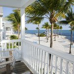 Beachfront Beach House Balcony View