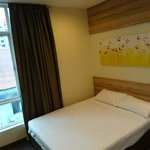 standard double room with window (upgraded for free from a room without window)