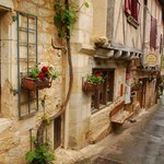 Quaint village streets invite exploring and lingering
