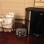 Coffee maker with Starbucks coffee