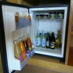 Le  mini bar bien garni