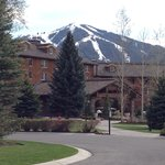 Front of Sun Valley Lodge