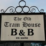 The Old Tram House sign