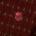 gum on the carpet