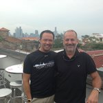 Me and Alan on the rooftop bad