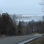 View of the Harbor & Lake Superior from end if the driveway