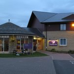 Premier Inn Ashington: main entrance