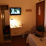 Single room with good size LCD TV