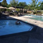 Photo de Calistoga Spa Hot Springs
