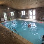Swimming pool at Barlings Barn