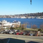 Lake Union right outside