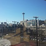 We had a good view of the Space Needle