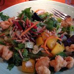 Crispy Two Noodle Shrimp Salad