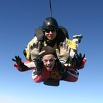 Fantastic skydive with Ian :)
