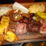 Meat & Cheese starter at Corked Wine Bar